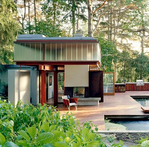 Дом в ущелье от Shim-Sutcliffe Architects