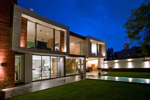 Мексиканский дом от Serrano Monjaraz Arquitectos