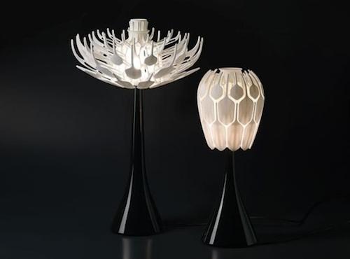 Лампа-цветок