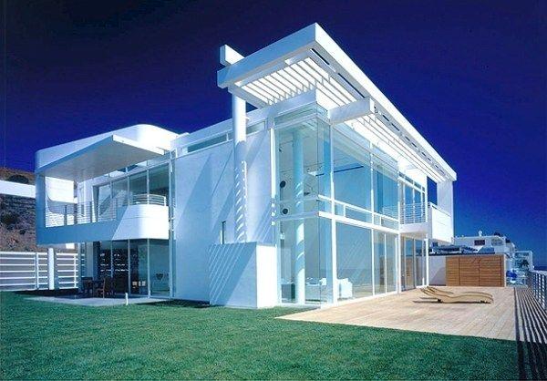 Дом в Калифорнии от Richard Meier & Partners Architects