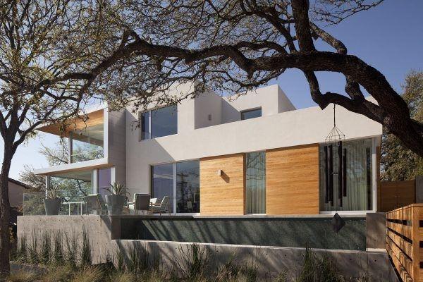 Дом с видом на город Dick Clark Architecture