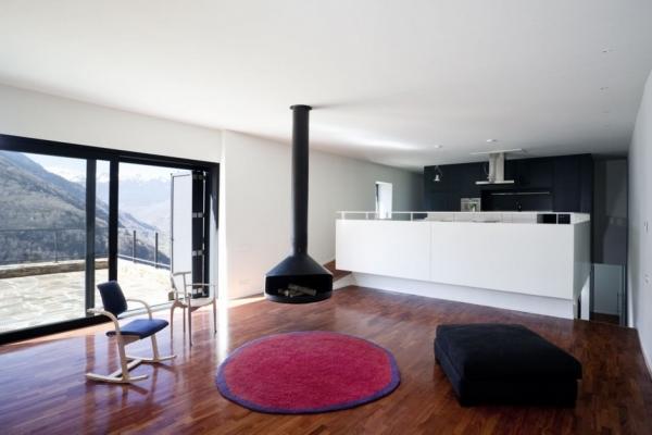Дом на Пиренеях от Cadaval Solà-Моралес