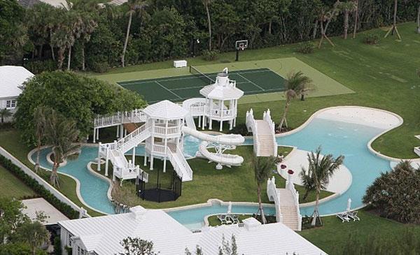 Дом с аквапарком во Флориде для Селин Дион