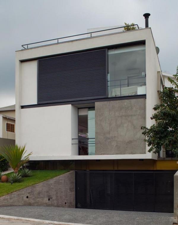 Дом Mirante do Horto от Flavio Castro