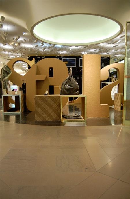 Pop-up магазин Stella McCartney от  Giles Miller