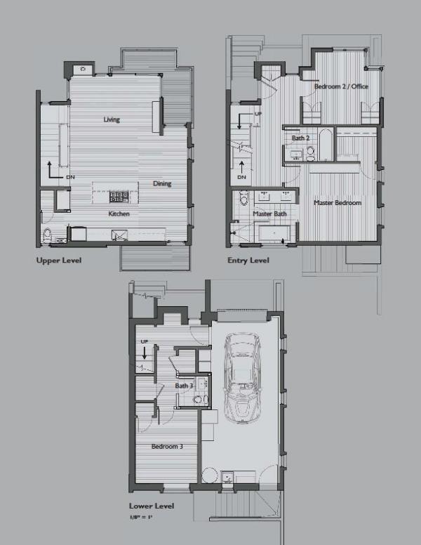 Резиденция в  Bernal Heights от SB Architects