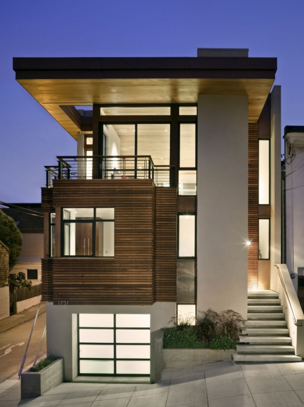 Резиденция в  Bernal Heights от SB Architects