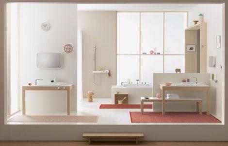 Настраиваемая ванная комната Axor Hansgrohe - новая коллекция Bouroullec