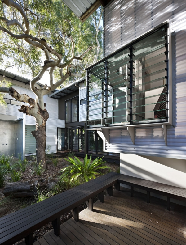 Дом на пляже от Bark Architects