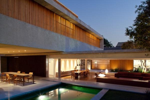 Дом в Бразилии от Marcio Kogan