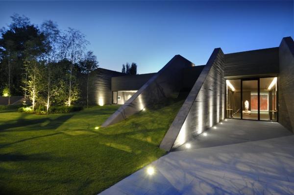 Дом из бетона II от A-cero Architects