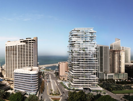 Бейрутские террасы от Herzog & de Meuron