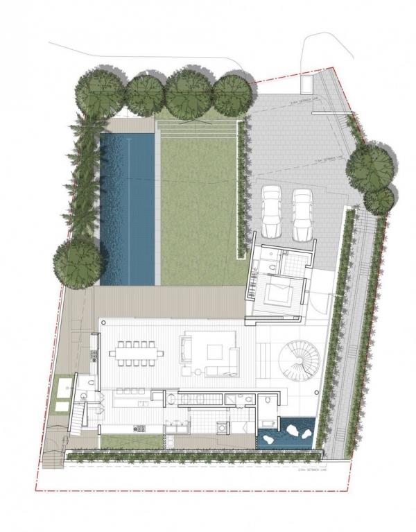 """Дом """"45 Faber Park"""" в Сингапуре от Ong & Ong Architects"""