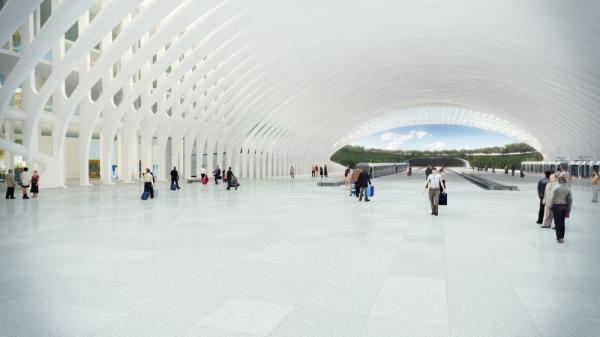 Проект международного аэропорта в Денвере  от Santiago Calatrava