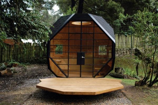 Жилой многогранник - дом для отдыха от Architect Manuel Villa