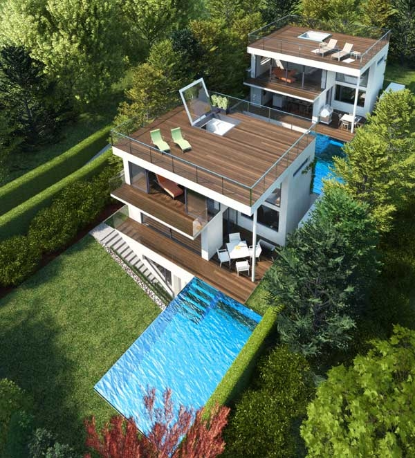 Солнечный дом от Architekt DI Johann Lettner