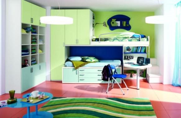 Идеи детских комнатах от Corazzin Group