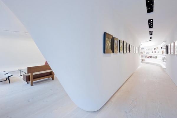 Квартира - галерея в Нью-Йорке от UNStudio