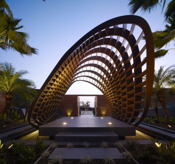 """Резиденция """"Kona"""" от Belzberg Architects"""