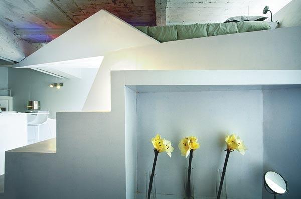 Супер стильный интерьер очень маленькой квартиры