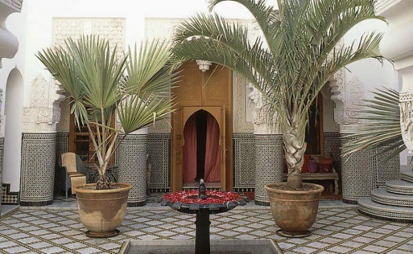 Великолепие востока - резиденция Riad Enija