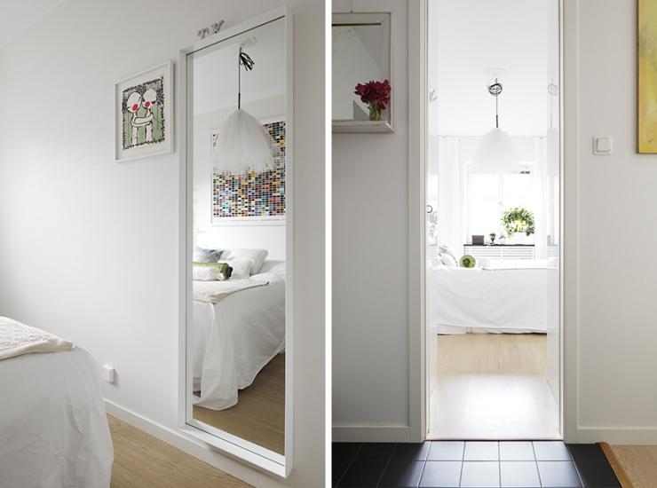 Небольшая уютная шведская квартира