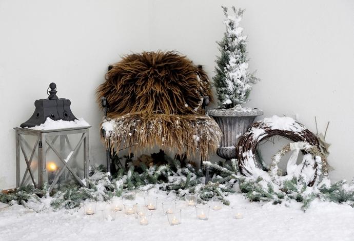 30 праздничных новогодних интерьеров