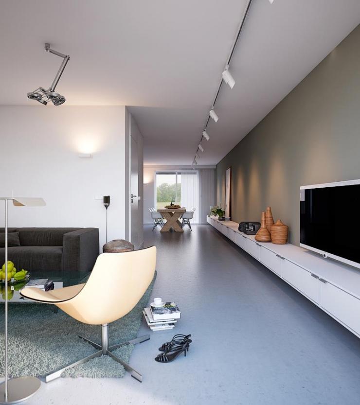 Легкий, яркий и красивый дом