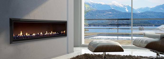 Идеи современных газовых каминов от Escea