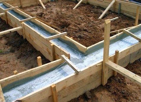 Фундамент под дом: мелкозаглубленный и незаглубленный