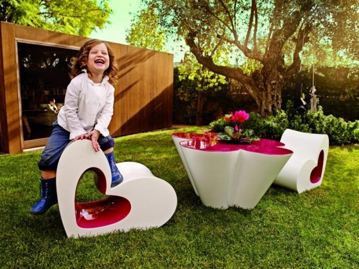 Сердечки-цветочки для маленькой дочки