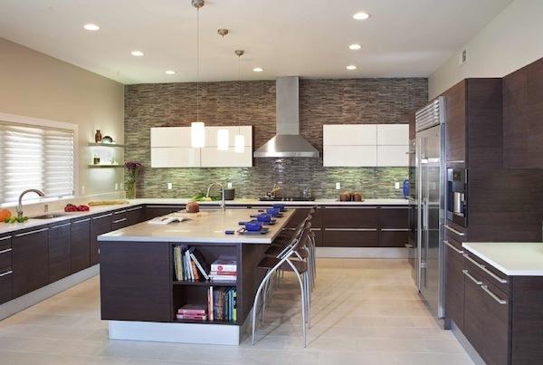 Особенности освещения кухни