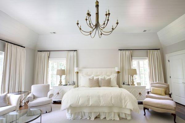 Стили люстр для спальни