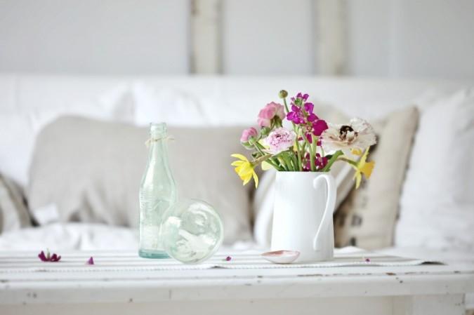 Цветочный декор в новой квартире