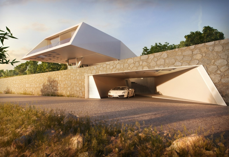 Итальянское чувство стиля от Hornung и Jacobi Architecture