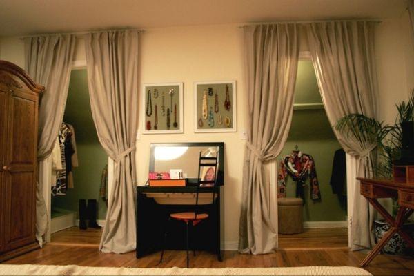 5 способов украсить дверь гардеробной