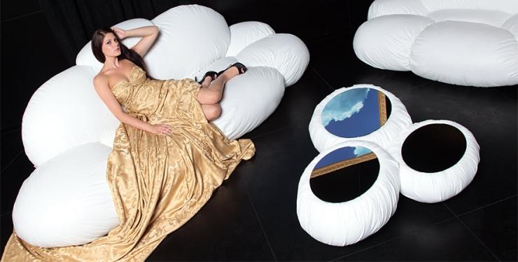 Воздушные диваны Cirrus от Dizajn