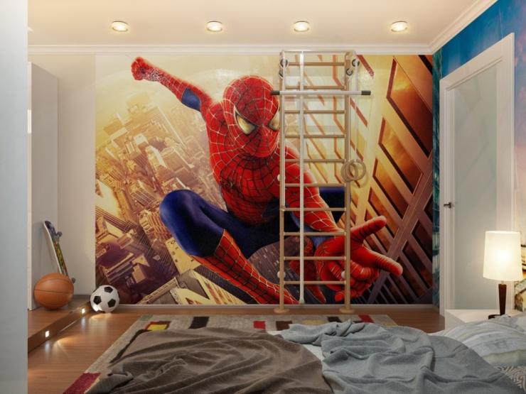 Идеи дизайна детских комнат для мальчиков