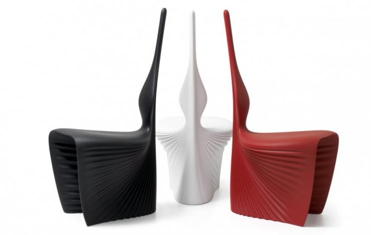 Концептуальные стулья BIOPHILIA от компании Vandom