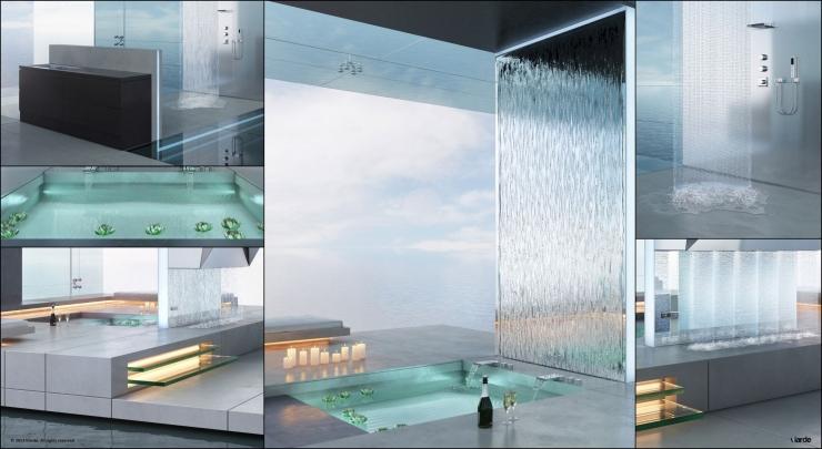 Современная ванная комната 2013