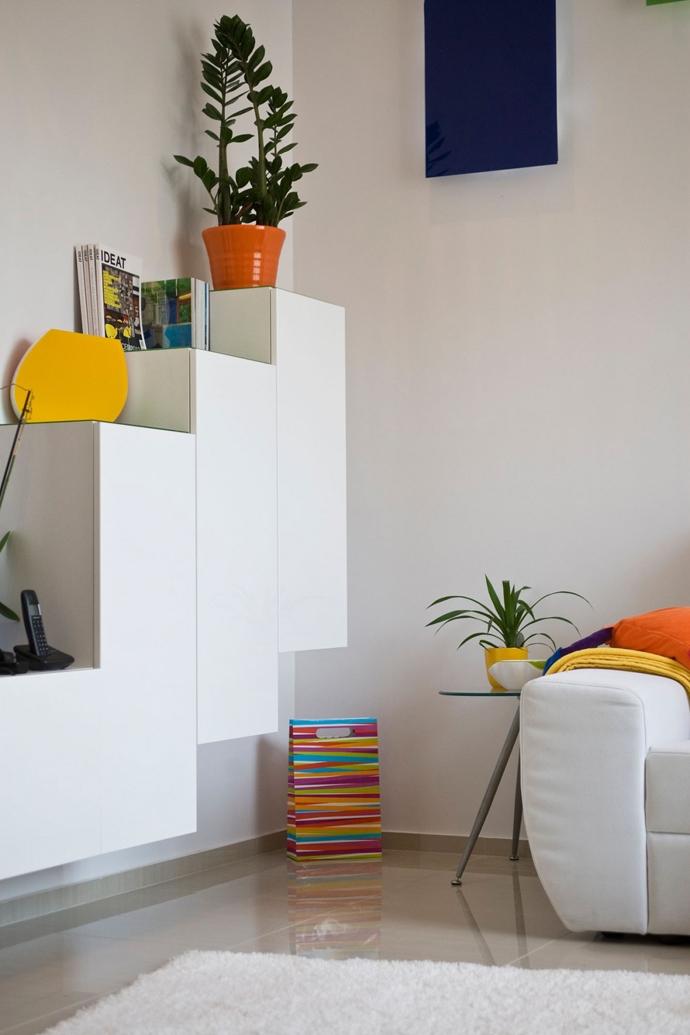 Яркий интерьер квартиры в Будапеште