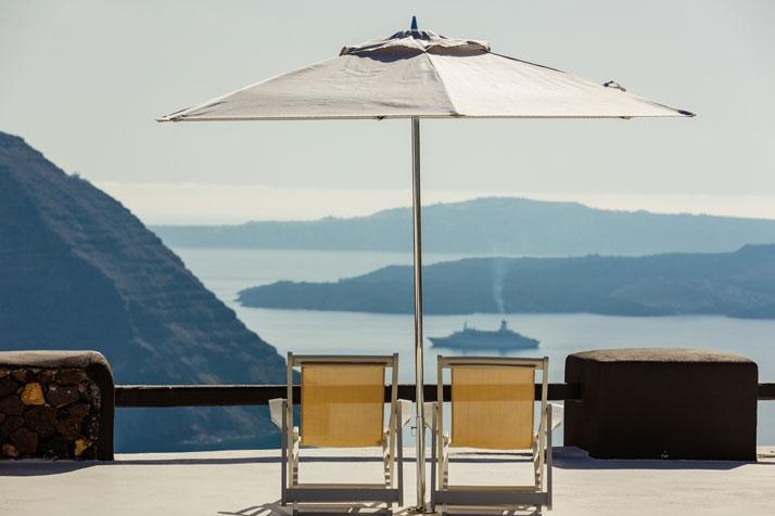 Жемчужина Средиземноморья: Вилла Aenaon в Санторини, Греция
