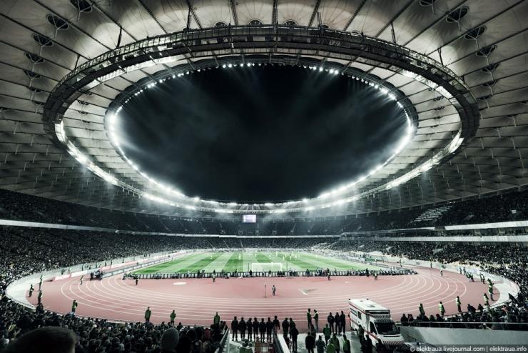 Спортивное освещение, основные задачи