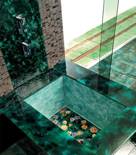 плитка «Green Vibrations» (Franco Pecchioli )