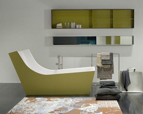 ванна Cuna от Antonio Lupi