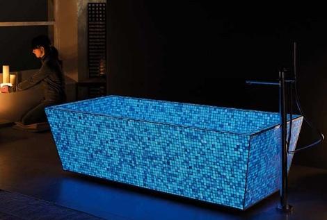 Фотолюминесцентная  мозаика Lucedentro
