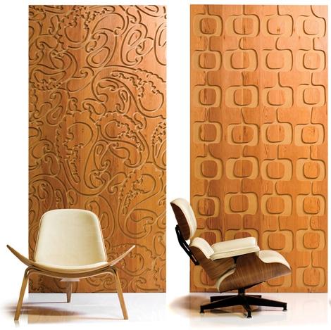 Мелиорированные деревянные панели B&N