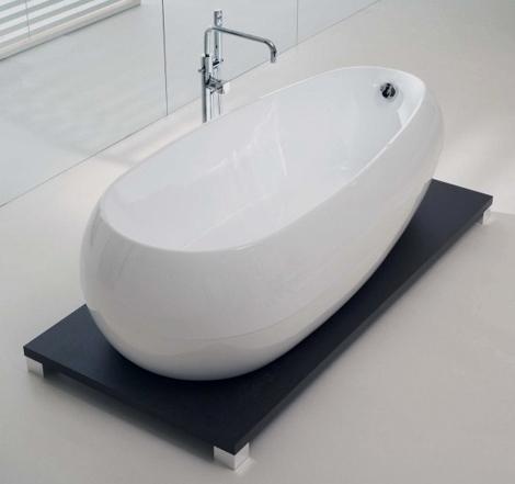 Акриловая ванна на пьедестале «Иллюзия» (Illusion)