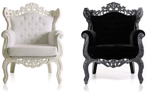 мебель в стиле барокко от компании Modani Элегантное кресло «Royal Armchair