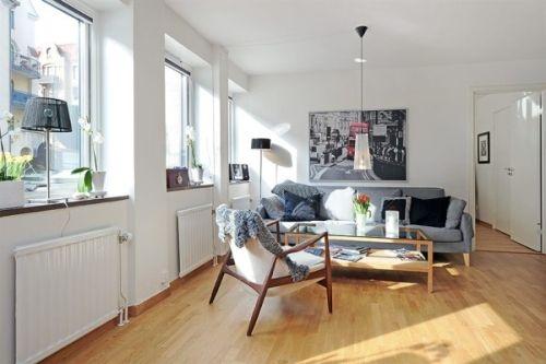 Шведская квартира в североевропейском стиле